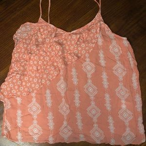 Maurices Ruffled Spaghetti Strap Tank Top